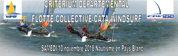 Avis de course Critérium Départemental – 10 novembre – NPB